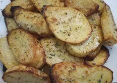 Ψητές πατάτες λαδολέμονο στη στιγμή χωρίς ταψιά και μπελάδες. 👍 Kai, My Favorite Food, Favorite Recipes, Side Dishes, Vegetables, Cooking, Breakfast, Desserts, Kitchen