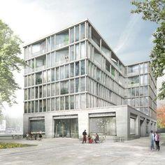 Max Dudler Architekt - Stadtquartier Schwabinger Tor München