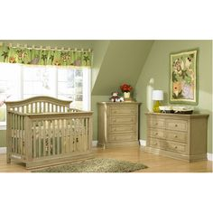 Dakota Collection - Driftwood. Love this crib, turns in to a toddler bed, and a full size bed. Might have to look for it this weekend!!