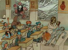 James Jean, la evolución de la ilustración meticulosa | OLDSKULL