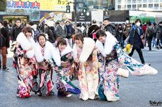 Coming Of Age Day in Japan Kimono (4)