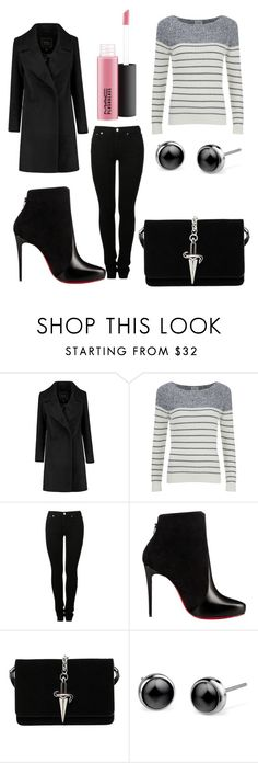 """#315"" by glitterunicorns-are-awesome ❤ liked on Polyvore featuring Vero Moda, MM6 Maison Margiela, Christian Louboutin, Cesare Paciotti and MAC Cosmetics"