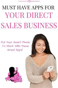 Are you looking for ways to run your direct sales business more smoothly? Check out these must-have apps for your smartphone or tablet!