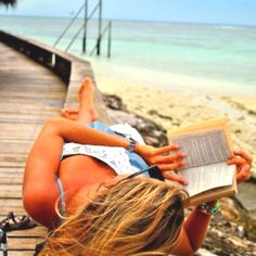Reading a book is relaxing in itself.  i Z-O-V-E it!
