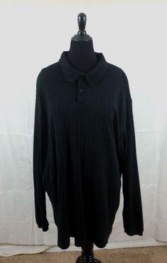 UNISEX BLACK 3XLT SHIRT BLOUSE DRESS PROFESSIONAL CASUAL LONG SLEEVE #NorthCrest #shirtblouse #Casual