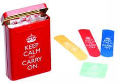 KEEP CALM AND CARRY ON BANDAGES #perpetualkidsummerfrenzy