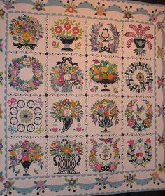This quilt won one of the big prizes in Houston a few years back. It's in my top five favorite quilts EVER.