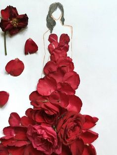 Laurence Aquino from Laoag City, Philippines is young and talented fashion artist. He uses natural materials such as flowers, vegetables and herbs to create beautiful and unique fashion art pieces.
