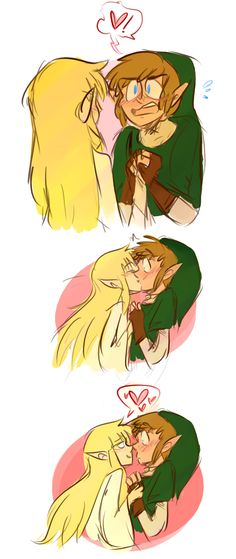 "Link and Zelda | ""You are Embarrassing Me"""