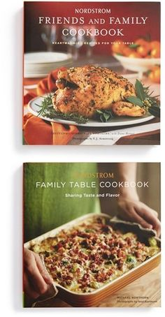 Chronicle Books Nordstrom Friends & Family Cookbooks (Set of 2)