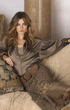 Ralph Lauren Stunning! I love everything about the textures, the shades of color, style :)