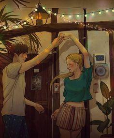 """Setiap orang memiliki pandangannya sendiri terhadap """"cinta"""", ilustrasi tentang momen dengan pasangan (suami da..."""