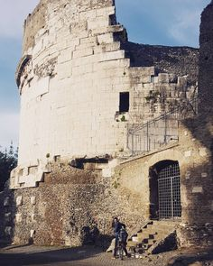 Pedalando per l'Appia Antica. #Rome