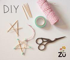 DIY #stars #xmas easy craft christmas #kids