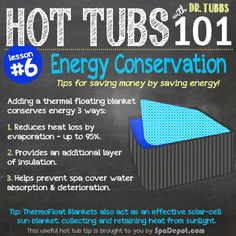 Energy Savings Tips for Hot Tub Owners!