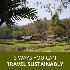Project Vdora Travel Tips: Learn ways you can travel sustainably in just under 2 minutes. Travel Tips, Canning, Mansions, House Styles, Outdoor Decor, Projects, Log Projects, Blue Prints, Travel Advice