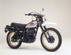 1981 Yamaha XT 500, die wollte ich früher immer haben :-)
