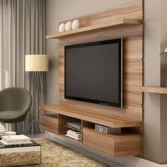 Top 50 Modern TV Stand Design Ideas For 2020 - Engineering Discoveries Tv Stand Modern Design, Tv Stand Designs, Simple Tv Unit Design, Tv Unit Decor, Tv Wall Decor, Tv Unit Furniture, Furniture Stores, Cheap Furniture, Furniture Design