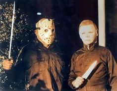 Friday the 13th - Jason Voorhees and Michael Mayers of Halloween