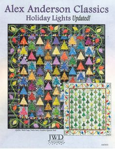 Holiday Lights Quilt Pattern by Alex by NaturalComfortsShop, $10.98