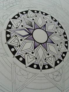 WIP. mandala by drawingsbylenna23