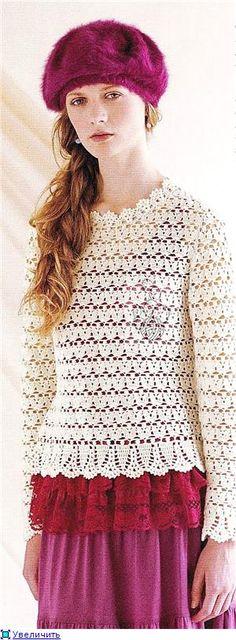 bluze și pulovere cu cârlig | bluze Afiseaza rubrica cârlig și pulovere | Blog Irimed: LiveInternet - Serviciul Diaries ruse Online