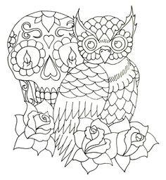 Owl Tattoo Designs Art | Owl Design W.I.P by ~RandoM-CommentarY on deviantART