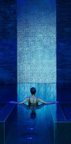 The Banyan Tree Spa Al Wadi Vitality pool