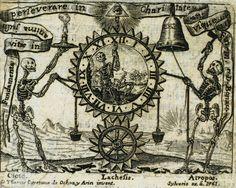 Relox de la vida humana; 1761; Engraving. Thomas Cayetano de Ochoa y Arin, invent. Sylverio ex. à 1761; anonymous