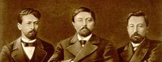 1896. Chekhov, Mamin-Sibiryak, Potapenko: