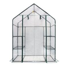 oGrow Deluxe 6-Shelf Walk-in Portable Greenhouse - Overstock™ Shopping - Big Discounts on Greenhouses