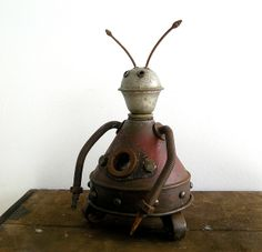 robot sculpture art | Recent Photos The Commons Getty Collection Galleries World Map App ...