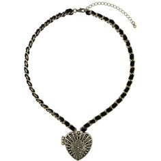 Miss Selfridge Heart Locket Necklace (33 AUD) ❤ liked on Polyvore featuring jewelry, necklaces, gold color, antique gold jewellery, heart shaped locket, locket necklace, heart necklace and heart jewelry