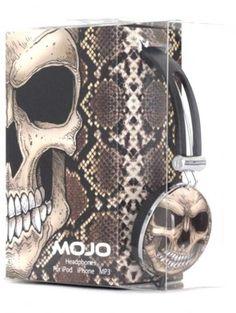 """Python Peterson"" Headphones by Mojo Backpacks"