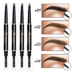 eyebrow pencil makeup Picture - More Detailed Picture about New Brand Eye Brow Tint Cosmetics Natural Long Lasting Paint Tattoo Eyebrow Waterproof Black Brown Eyebrow Pencil Makeup Picture in Eyebrow Enhancers from Crazy Feng Fashion Jewelry Eyebrow Tinting, Eyebrow Pencil, Eyebrow Makeup, Eyeliner, Eyeshadow, Makeup Eyebrows, False Eyebrows, Eyebrow Products, Makeup Eyes