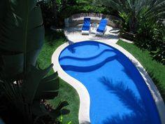 View of pool from second floor - Sayulita estate rental