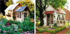 garden sheds church windows