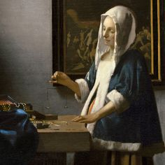 Things I Love: Johannes Vermeer's Woman Holding a Balance.  This is a painting I would always insist on seeing when we went to the National Gallery of Art.  My grandmother is also a huge Vermeer fan, so it reminds me of her.