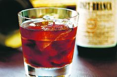 FANCIULLI COCKTAIL:    1½ oz bourbon   ¾ oz sweet (red) vermouth   ¼ oz Fernet-Branca    Stir with ice and strain into a stemmed cocktail glass. Or, serve it on the rocks in an Old-Fashioned glass. Though you can use any sweet vermouth, a big, bold vermouth such as Punt e Mes or Vya is the best bet up against Fernet-Branca.