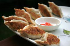 Pan-fried Beef Dumplings