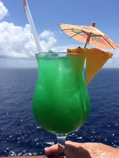 carnival cruise drink of the day