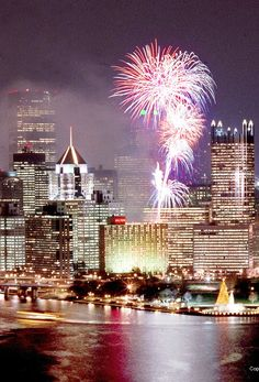 Fireworks in the Burgh