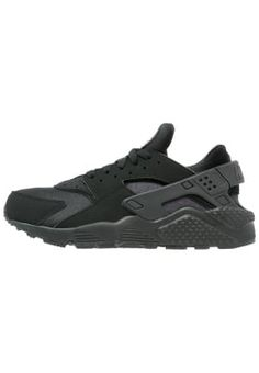 AIR HUARACHE - Sneaker low - black/white