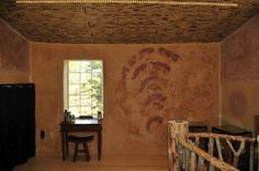 "Loft in the straw bale home ""Snowed Inn"" by Dragon Fly Designs."