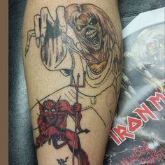 iron maiden tattoos - Google Search | Tatuagem, Tatoo ...  |Iron Maiden Somewhere In Time Tattoo