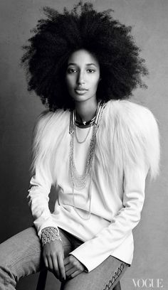 Julia Sarr-Jamois - It is a wonder Julia Sarr-Jamois ever reaches her front-row seat at Fashion Week, given the number of fashion bloggers and street style–seekers who stop her outside all the shows she attends. And with good reason: Her lofty hair, bright smile, and array of inimitably cool ensembles are not only eye-catching but gaze-holding. The Wonderland-magazine fashion editor wears quirky pieces by young London designers and ladylike outfits from larger houses with equal ease, often…