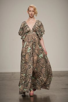 See the entire collection from the Ivana Helsinki Spring 2014 Ready-to-Wear runway show. Spring 2014, Spring Summer, Summer 2014, Steampunk Couture, Atelier Versace, Marimekko, Carolina Herrera, Helsinki, Catwalk
