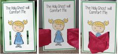 The Gift of the Holy Ghost can Help Me - lesson ideas and printables