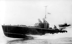 British Motor Torpedo Boat - I think this is not an MTB bit a BPB co. Based fast MGB. Possible depth charge paraphernalia at rear - and who knows one of the men us my Dad!