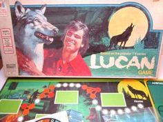 VINTAGE-RARE-1978-LUCAN-BOARD-GAME-BASED-ON-THE-1970-039-S-TV-SERIES-MILTON-BRADLEY
